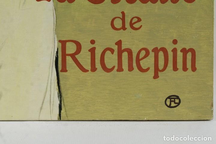 Arte: Óleo sobre táblex copia de un cuadro de Toulouse Lautrec ThéAâtre Antoine La Gitane de Richepin S.XX - Foto 9 - 137437002