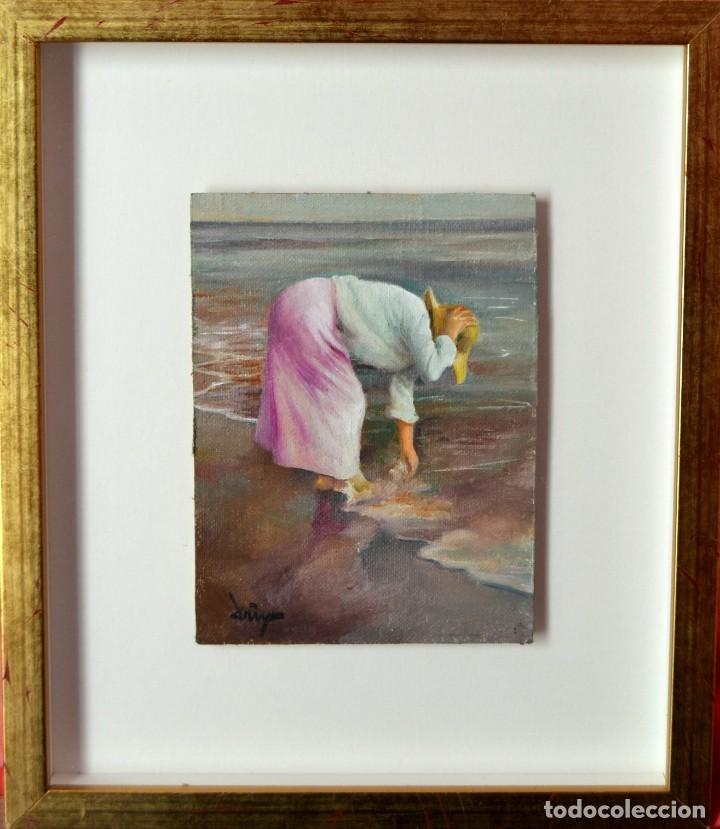 DOMINGO ALVAREZ GOMEZ - OLEO SOBRE TABLA (Arte - Pintura - Pintura al Óleo Contemporánea )