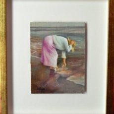 Arte: DOMINGO ALVAREZ GOMEZ - OLEO SOBRE TABLA. Lote 137508918
