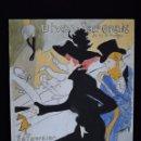 Arte: PINTURA DIVAN JAPONAIS, TRIBUTO A LAUTREC. Lote 137536386