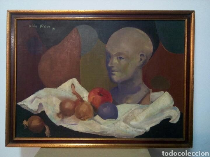 ILEGIBLE. (AÑO 71) (Arte - Pintura - Pintura al Óleo Contemporánea )