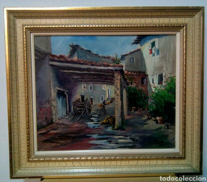 PERE PICO ( SANTA PAU 1977 LA GARROCHA) GERONA. (Arte - Pintura - Pintura al Óleo Contemporánea )