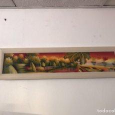 Arte: ÓLEO SOBRE TABLA MODERNO. Lote 137596488