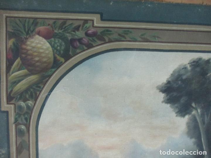 Arte: Óleo sobre Tela - Diana Cazadora - Escena Clásica - 180 cm Ancho, 133,5 Altura - S. XIX - Foto 4 - 137610538