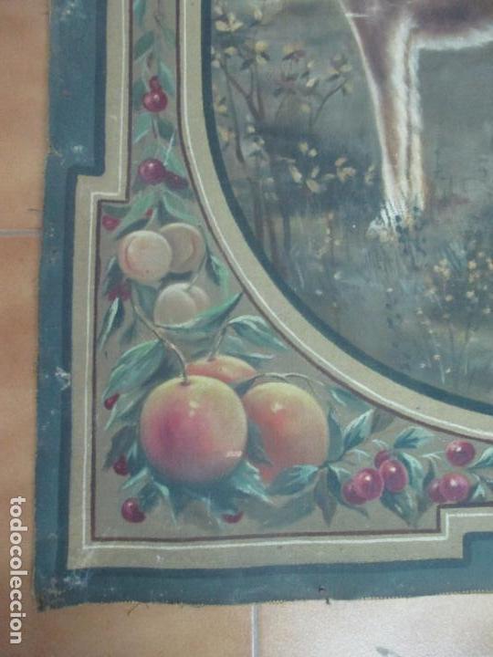 Arte: Óleo sobre Tela - Diana Cazadora - Escena Clásica - 180 cm Ancho, 133,5 Altura - S. XIX - Foto 5 - 137610538