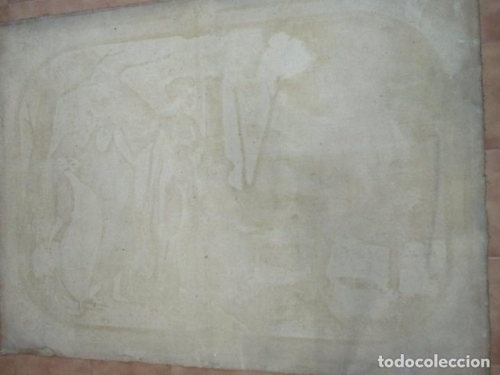 Arte: Óleo sobre Tela - Diana Cazadora - Escena Clásica - 180 cm Ancho, 133,5 Altura - S. XIX - Foto 21 - 137610538