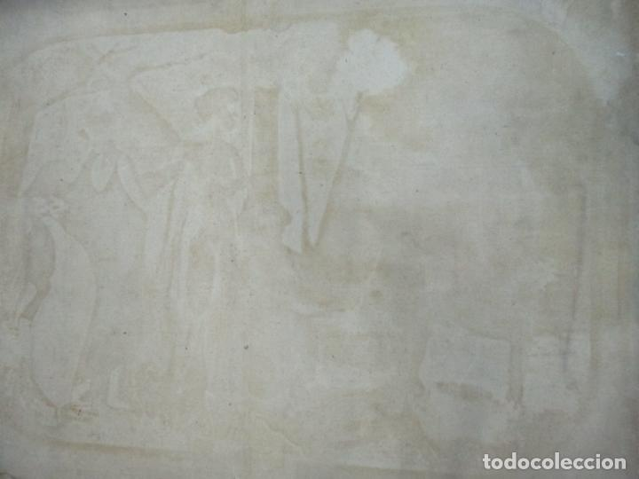 Arte: Óleo sobre Tela - Diana Cazadora - Escena Clásica - 180 cm Ancho, 133,5 Altura - S. XIX - Foto 22 - 137610538