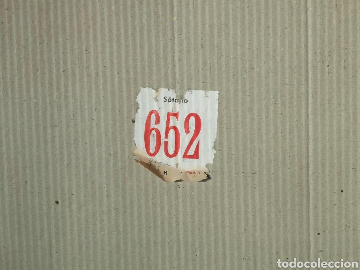 Arte: IMPORTANTE OBRA ANÓNIMA, ACRILICO SOBRE PAPEL/CARTÓN, MUY BIEN ENMARCADO 60x40cm. Para analizar. - Foto 9 - 137636281