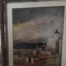 Arte: PAISAJE DE CIUDAD DE RAMÓN CAPMANY I DE MONTANER. Lote 137649578