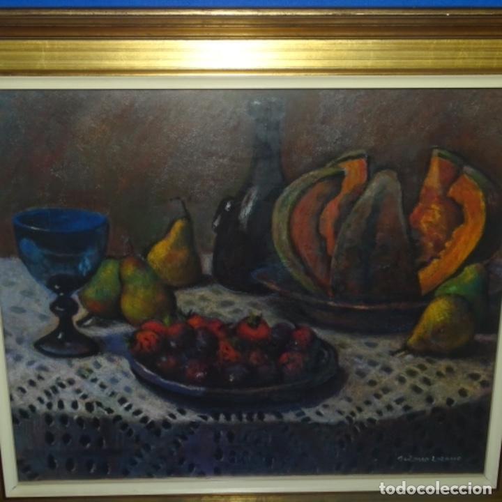 ÓLEO DE JOSÉ ANTONIO LOZANO GUERRERO(YESTE 1919-2014).EXCELENTE OBRA. (Arte - Pintura - Pintura al Óleo Contemporánea )