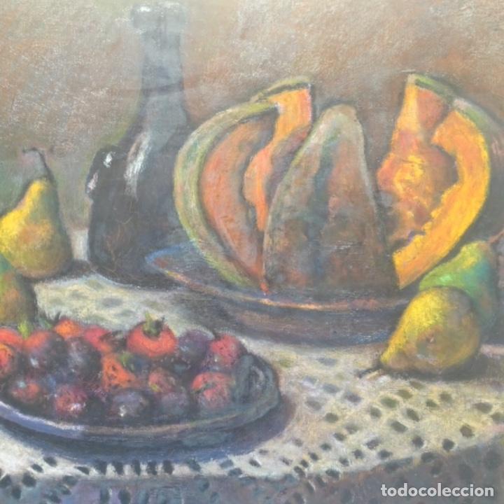 Arte: Óleo de José Antonio lozano guerrero(Yeste 1919-2014).excelente obra. - Foto 3 - 137674502