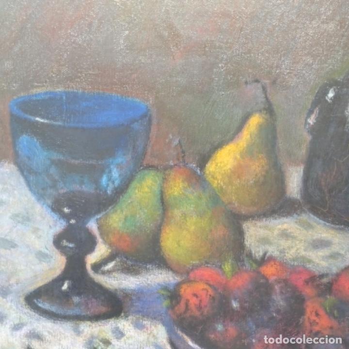 Arte: Óleo de José Antonio lozano guerrero(Yeste 1919-2014).excelente obra. - Foto 4 - 137674502