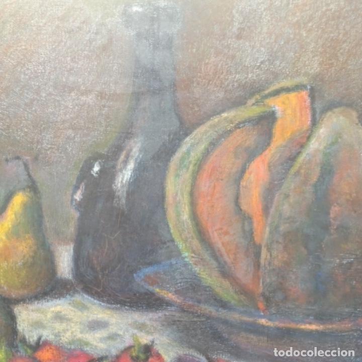 Arte: Óleo de José Antonio lozano guerrero(Yeste 1919-2014).excelente obra. - Foto 5 - 137674502