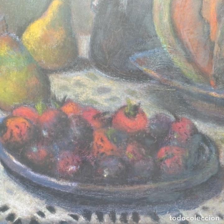 Arte: Óleo de José Antonio lozano guerrero(Yeste 1919-2014).excelente obra. - Foto 6 - 137674502