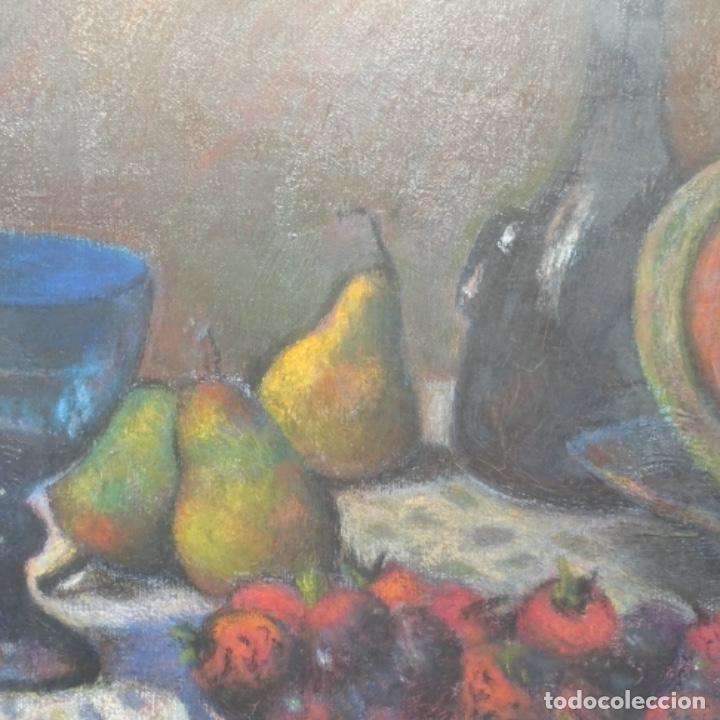 Arte: Óleo de José Antonio lozano guerrero(Yeste 1919-2014).excelente obra. - Foto 7 - 137674502