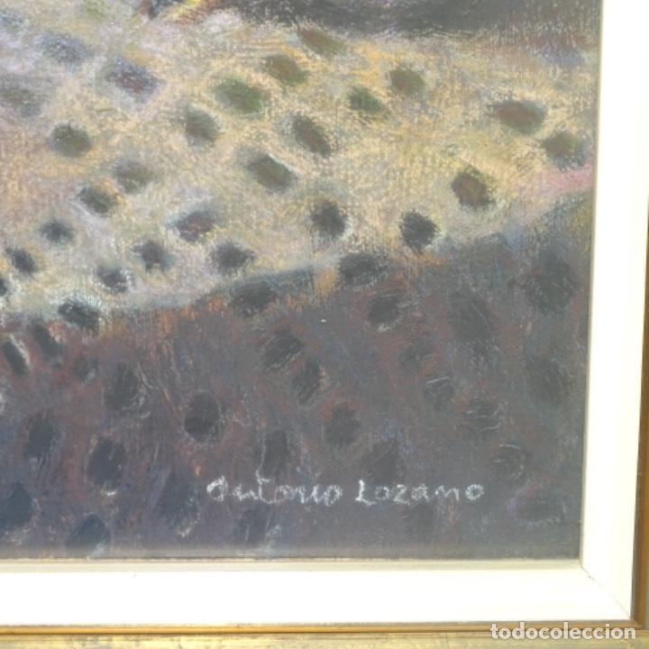 Arte: Óleo de José Antonio lozano guerrero(Yeste 1919-2014).excelente obra. - Foto 9 - 137674502