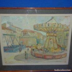 Arte: ORIGINAL ÓLEO SOBRE TABLEX DE JOSEP ORIOL BALMES BOSCH(SANT QUIRZE DE BESORA 1927).EXCELENTE OBRA.. Lote 137676090
