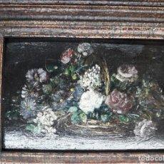 Arte: BODEGÓN OLEO SOBRE TABLA. Lote 137721610