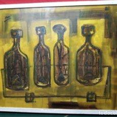 Arte: ACRILICO SOBRE CARTÓN PIEDRA FIRMADO YSASI. Lote 137759178
