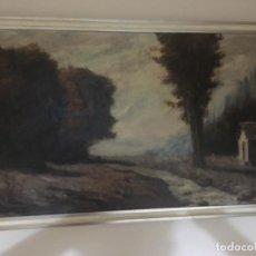 Arte: PAISAJE CON RÍO DE MATOS DE LA ZARZA. Lote 137788954