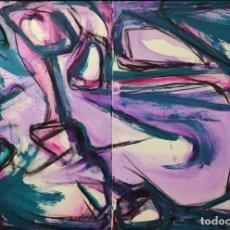 Arte: ENRIQUE TENREIRO . (A CORUÑA, 1969) COMPOSICIÓN. ACRÍLICO SOBRE LIENZO. Lote 137802242