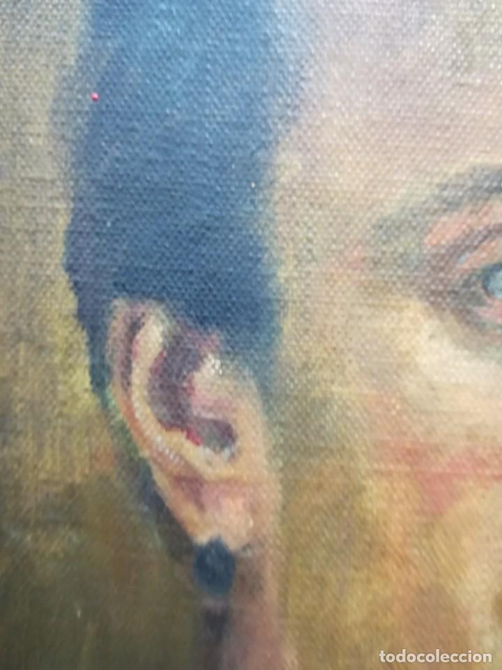 Arte: PINTURA DE RETRATO ATRIBUIDO A JOSE ANTONIO ´¨PRIMO DE RIVERA¨ FIRMA ILEGEGIBLE POR MI - Foto 4 - 137886938