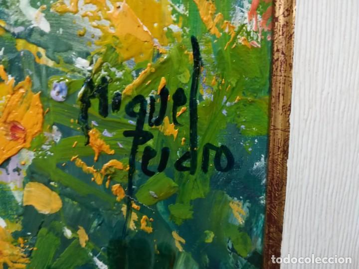 Arte: PAISAJE PRIMAVERAL DE MIGUEL PEIDRO - Foto 5 - 137891190