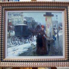 Arte - Pintura al oleo de JUAN SOLER CON MARCO - 110642963