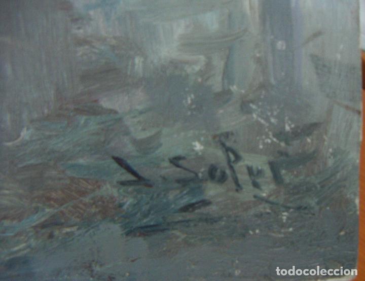 Arte: Pintura al oleo de JUAN SOLER CON MARCO - Foto 2 - 110642963