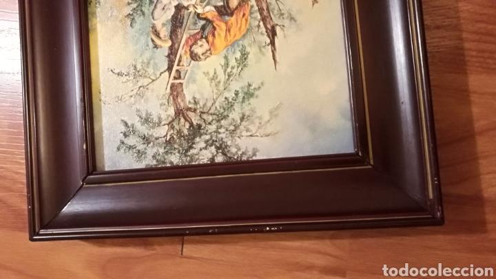 Arte: Antiguo cuadro marco de madera - Foto 7 - 137938830