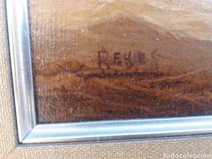 Arte: Cuadro de pintura Marina antigua a mano sobre tela firmada ..barco velero..decoracion nautica - Foto 4 - 137896857