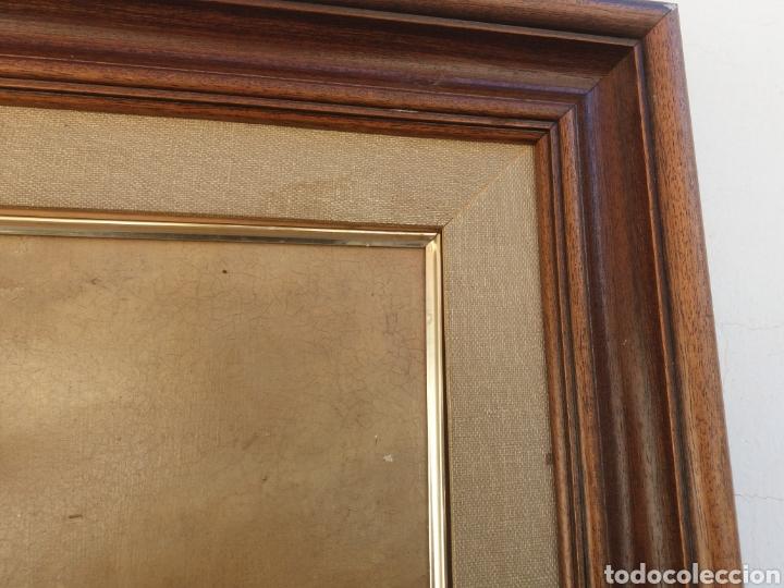 Arte: Cuadro de pintura Marina antigua a mano sobre tela firmada ..barco velero..decoracion nautica - Foto 5 - 137896857