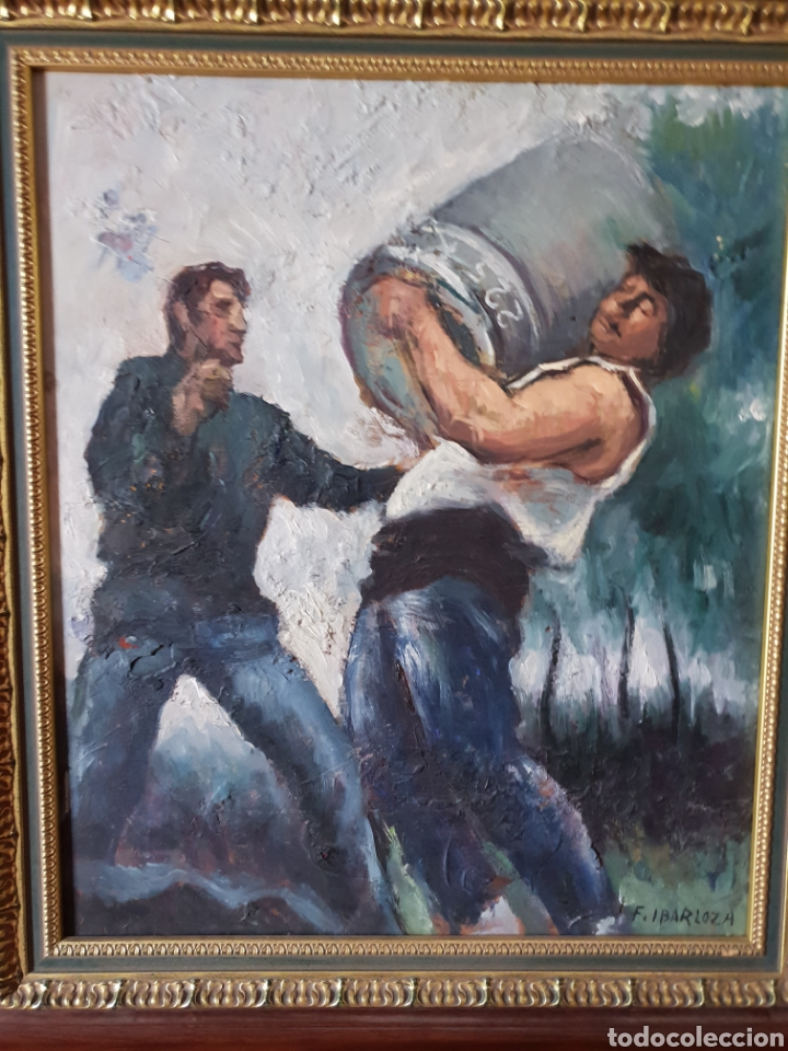 JUAN FERNANDEZ IBARLOZA (Arte - Pintura - Pintura al Óleo Moderna siglo XIX)