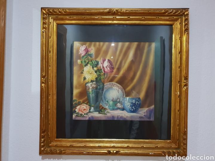 BODEGON .DE. J.VALLS CLUSAS (Arte - Pintura - Pintura al Óleo Moderna siglo XIX)