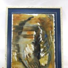 Arte: PRECIOSO GRAN CUADRO ARTE MODERNO ABSTRACTO DECORACION FIRMADO CARRILLO . Lote 138311818