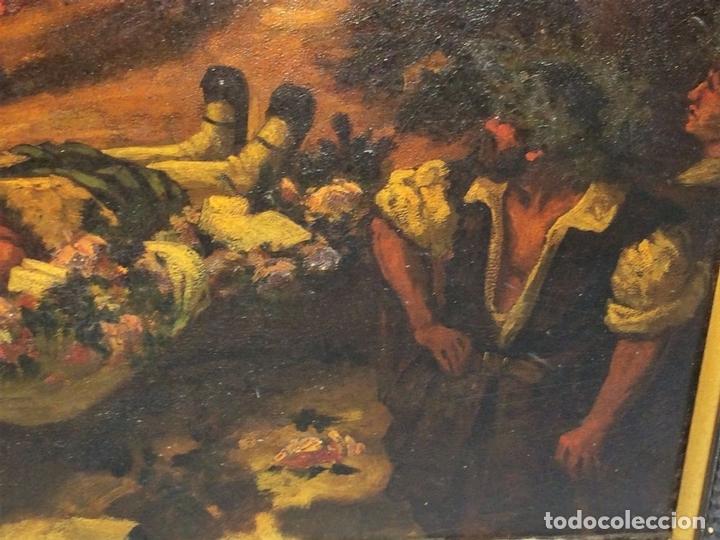 Arte: AVENTURAS DE DON QUIJOTE. (2)ÓLEOS SOBRE PAPEL-CARTÓN. FIRMADOS. ESPAÑA. CIRCA 1869 - Foto 18 - 138767534