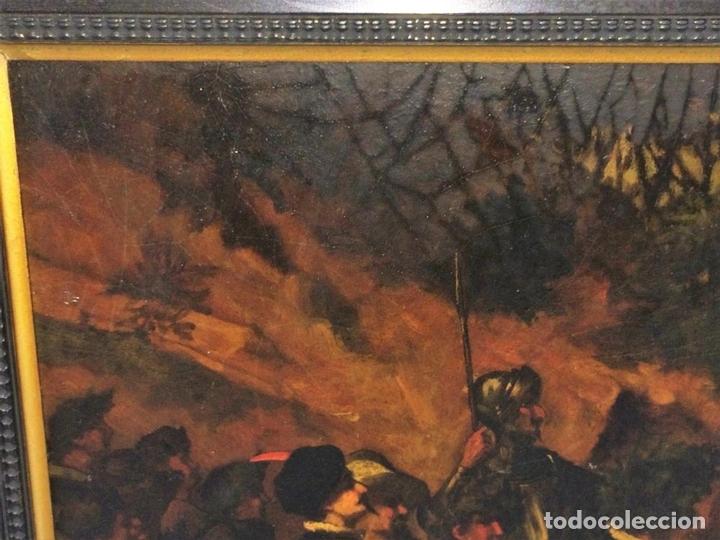 Arte: AVENTURAS DE DON QUIJOTE. (2)ÓLEOS SOBRE PAPEL-CARTÓN. FIRMADOS. ESPAÑA. CIRCA 1869 - Foto 19 - 138767534