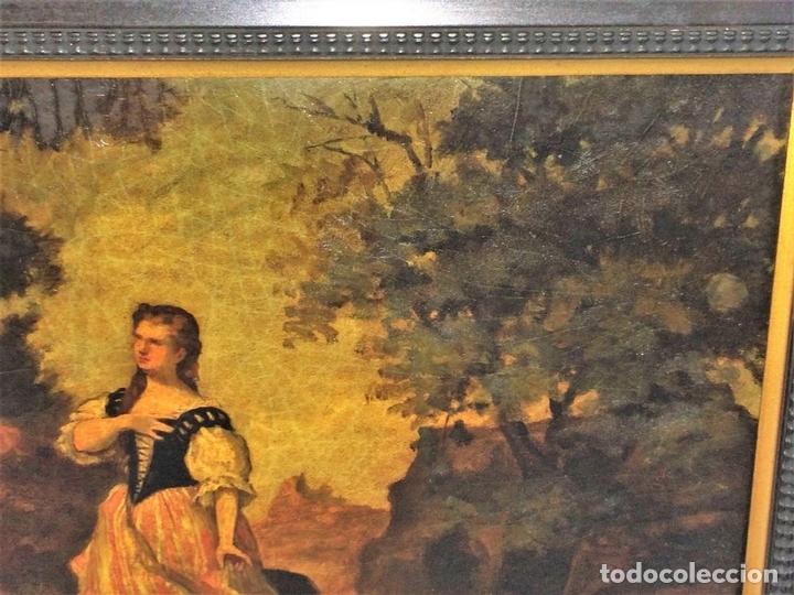 Arte: AVENTURAS DE DON QUIJOTE. (2)ÓLEOS SOBRE PAPEL-CARTÓN. FIRMADOS. ESPAÑA. CIRCA 1869 - Foto 22 - 138767534