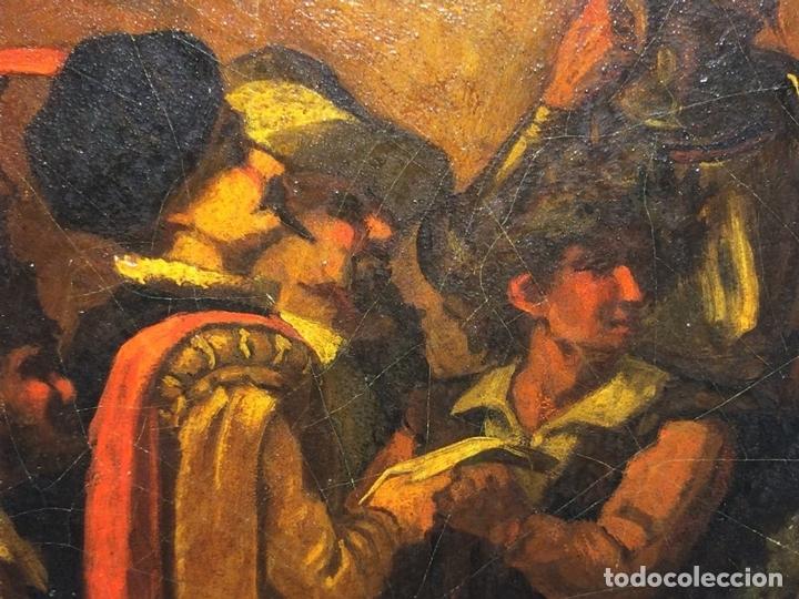 Arte: AVENTURAS DE DON QUIJOTE. (2)ÓLEOS SOBRE PAPEL-CARTÓN. FIRMADOS. ESPAÑA. CIRCA 1869 - Foto 25 - 138767534