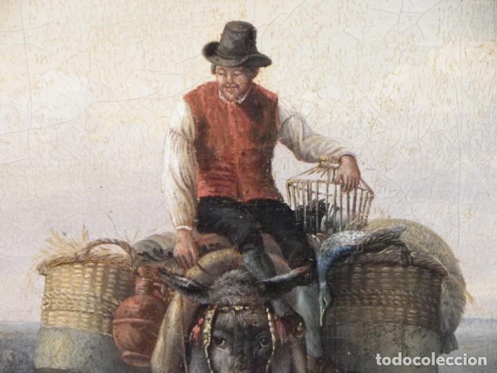 Arte: Paisaje con figuras escuela holandesa s-XVIII-XIX - Foto 17 - 138864918