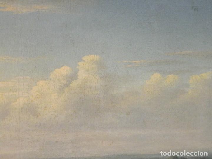 Arte: Paisaje con figuras escuela holandesa s-XVIII-XIX - Foto 20 - 138864918