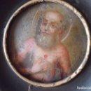 Arte: MINIATURA SAN PABLO EN COBRE SIGLO XVIII. Lote 138881722
