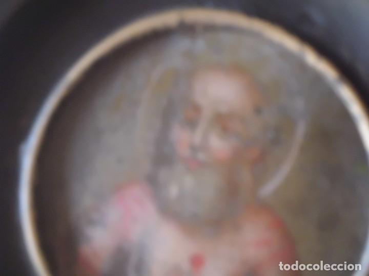 Arte: MINIATURA SAN PABLO EN COBRE SIGLO XVIII - Foto 2 - 138881722