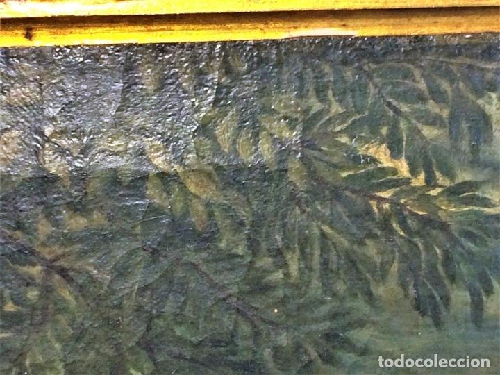 Arte: VENUS Y ADONIS. ÓLEO SOBRE LIENZO. COPIA DE UN ORIGINAL DEL VERONÉS. ITALIA(?). XVII(?) - Foto 5 - 139052886