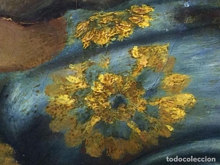 Arte: VENUS Y ADONIS. ÓLEO SOBRE LIENZO. COPIA DE UN ORIGINAL DEL VERONÉS. ITALIA(?). XVII(?) - Foto 18 - 139052886