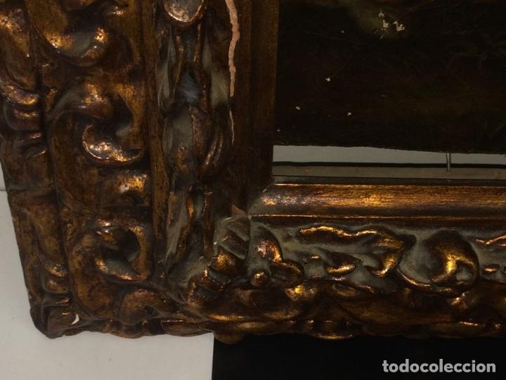 Arte: VENUS Y ADONIS. ÓLEO SOBRE LIENZO. COPIA DE UN ORIGINAL DEL VERONÉS. ITALIA(?). XVII(?) - Foto 23 - 139052886