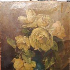 Arte: OLEO FEDERICO OLARIA (1849-1898) FIRMADO 36X25.5 CM. Lote 139090794
