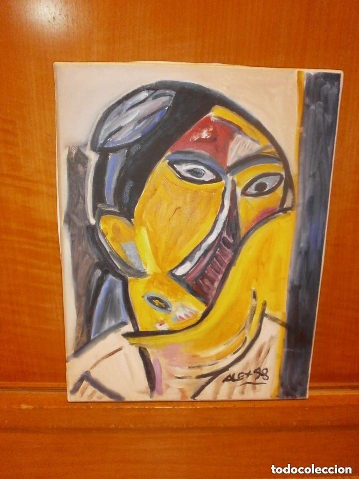 COPIA RETRATO DE PICASSO PINTURA AL OLEO (Arte - Pintura - Pintura al Óleo Contemporánea )