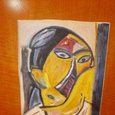 Arte: COPIA RETRATO DE PICASSO PINTURA AL OLEO. Lote 139095582