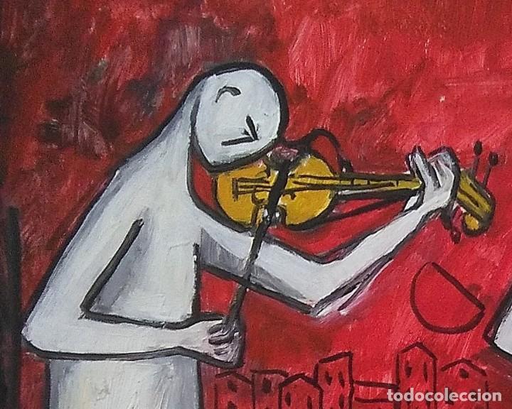 Arte: Antolín MONTIEL.Oleo sobre cartón - Foto 2 - 139122890